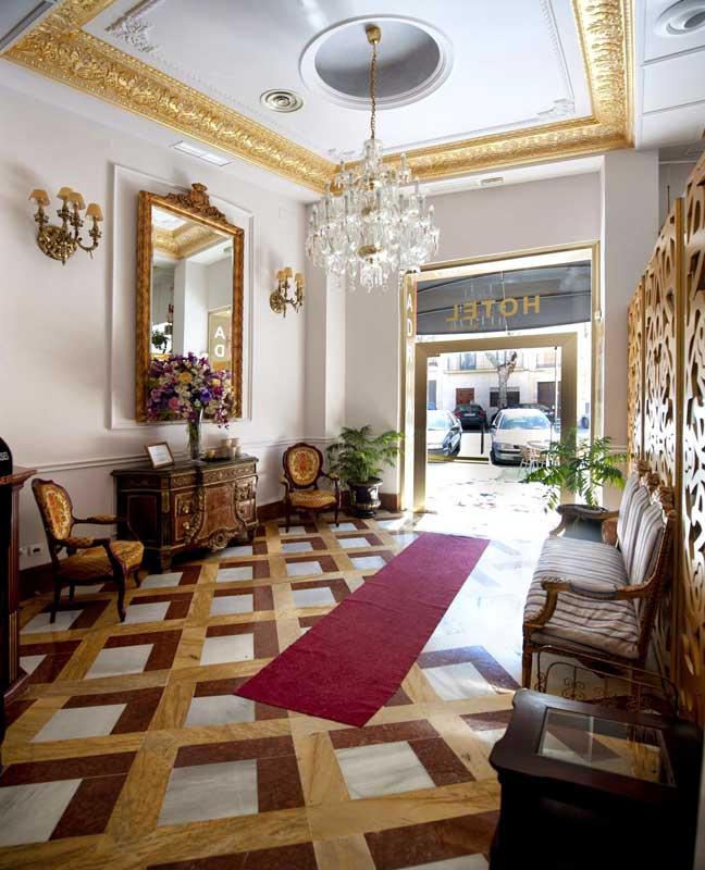 Camera nel centro di Siviglia