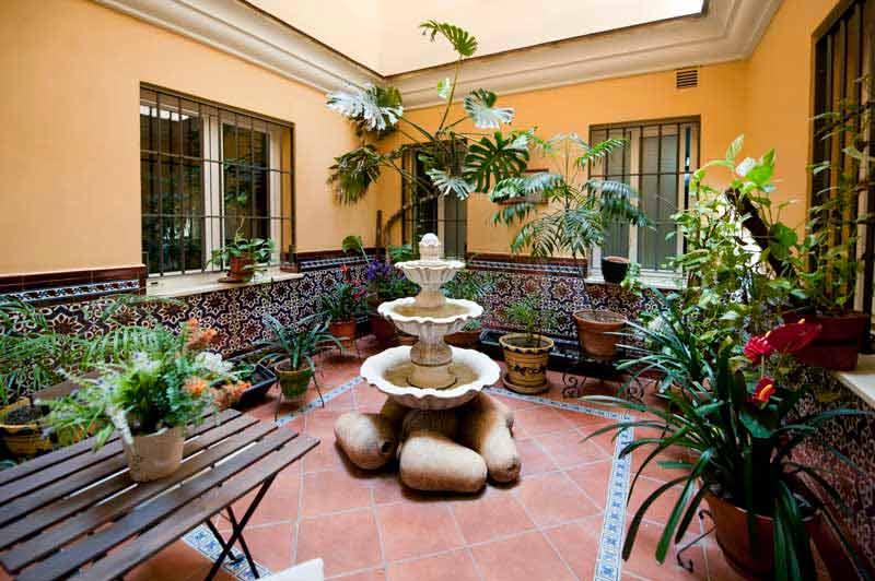 Habitación hotel en el centro de Sevilla